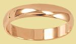 Обручальное кольцо классическое 4 мм