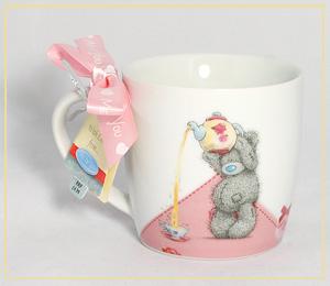 """Кружка """"Мишка с чайничком"""" G01M0203a"""