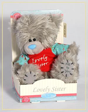 """Мягкая игрушка """"Мишка Любимая сестрёнка"""" G01W2342"""